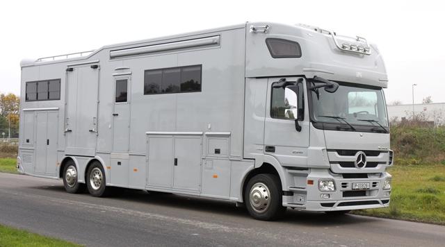 MB Actros 2544 Wohnmobil